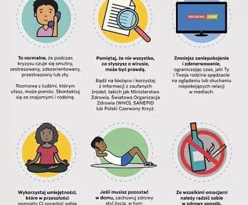 Jak radzić sobie ze stresem podczas panowania COVID-19?